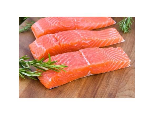 Porzioni Di Salmone