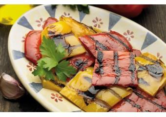 Peperoni Grigliati 450 Gr