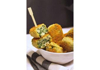 Crocchette Di Pollo E Spinaci