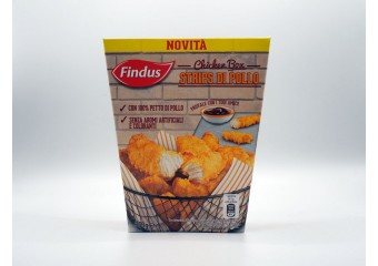 Strips Di Pollo Findus 350 Gr