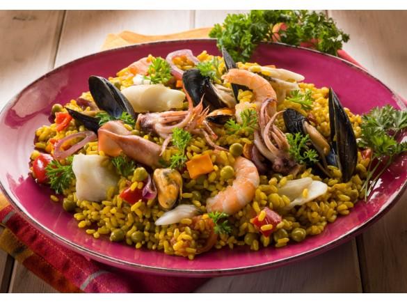 Paella Di Pesce 650 Gr