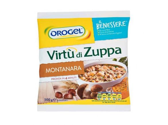 Virtù Di Zuppa Montanara Orogel 500 Gr