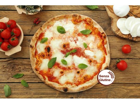 Pizza Margherita Senza Glutine 280 Gr