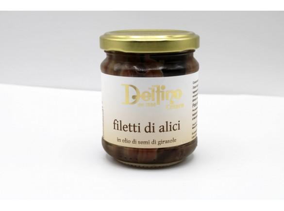 Filetti Di Alici Di Cetara