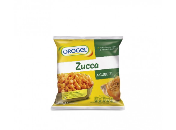 Zucca A Cubetti Orogel 450 Gr