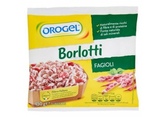 Fagioli Borlotti Orogel 450 Gr
