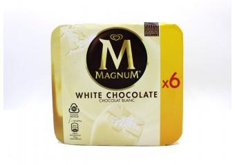 Magnum White Chocolate x6...
