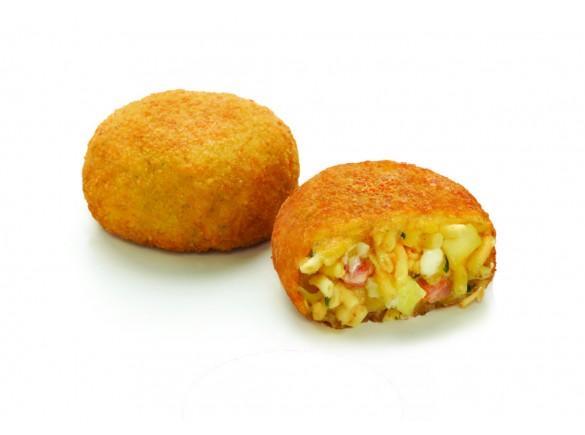 Frittatina Di Pasta Con Patate E Provola